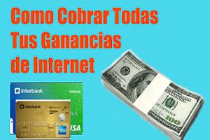 como cobrar dinero de internet,recibir pagos por internet