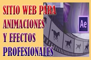 animaciones para tus vídeos,crea animaciones profesionales para tus vídeos