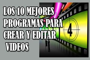 cuales son los mejores programas para editar videos,mejores programas para hacer videos