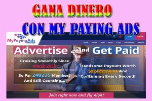 MyPayingAds La Mejor Pagina Para Ganar Dinero Por Internet
