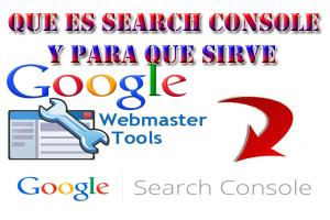 como funciona google search console