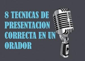 8 tecnicas de presentacion para hablar en publico