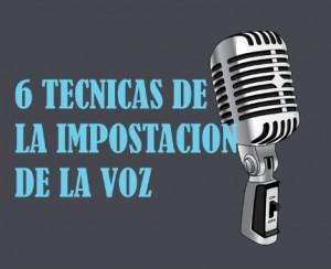 6 tecnicas de impostación de voz