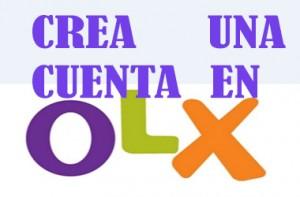 Crea una cuenta en OLX