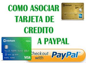 como asociar tu tarjeta de crédito o débito a paypal