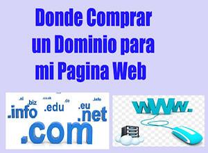 donde comprar un dominio y hosting – de forma segura