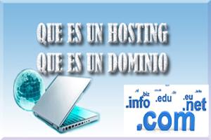 dominio,hosting,pagina web