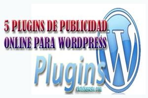 5 plugins de publicidad online para wordpress