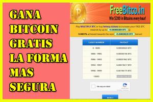 Como Ganar Bitcoin Gratis la Forma mas Segura