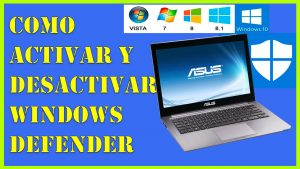 Como Activar y Desactivar Windows Defender en Windows 10