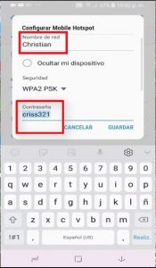 compartir internet wifi
