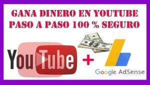 ganar dinero en youtube en 2021【paso a paso 100 % seguro】