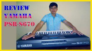 teclado yamaha psr s670 – características