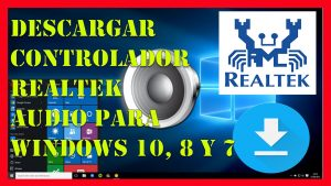 descargar driver realtek high definition audio windows 10, 8 y 7