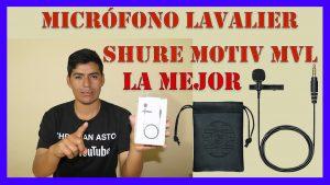 micrófono de solapa shure motiv mvl review en español – la mejor 2021