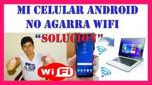 mi celular android no agarra wifi solucion 2020 - no se conecta a wifi