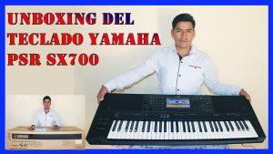 Teclado Yamaha PSR SX700 (Unboxing 2021 + Funcionalidades y Características)